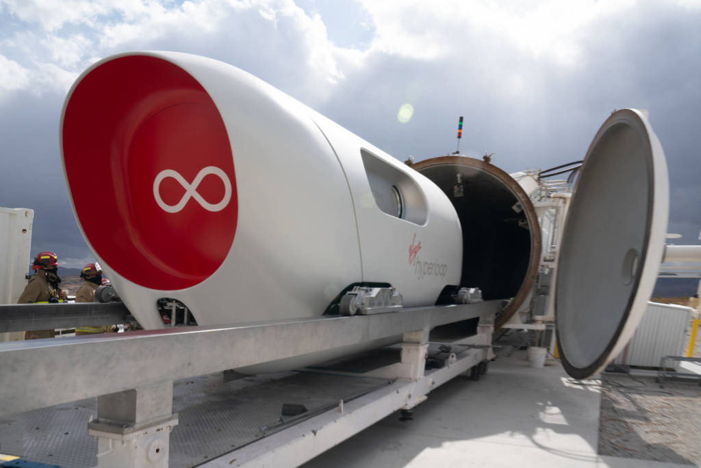 Virgin Hyperloop XP-2 test