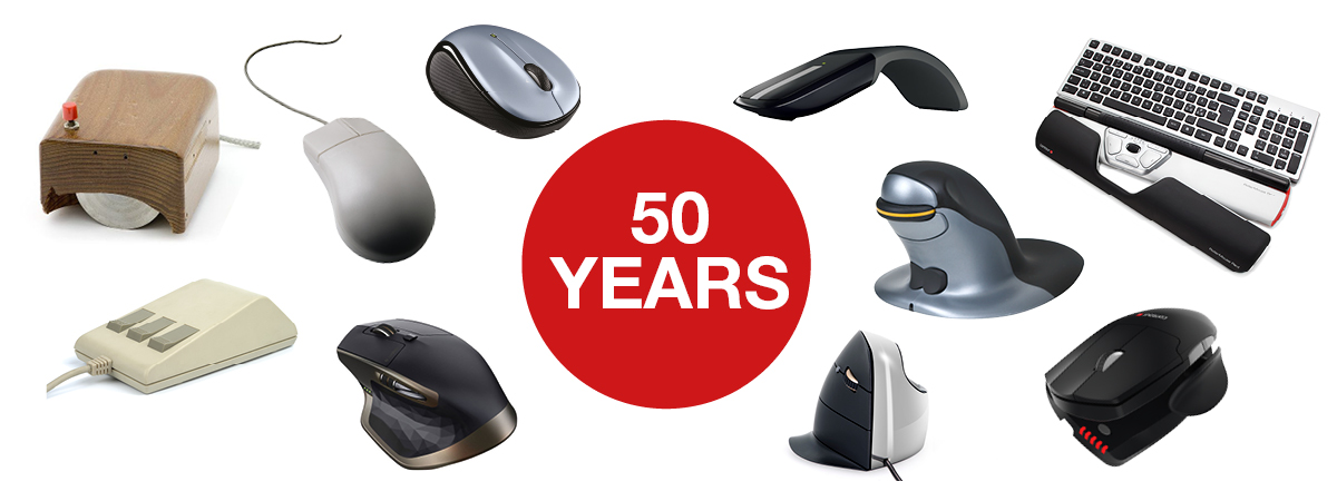 mouse compie 50 anni