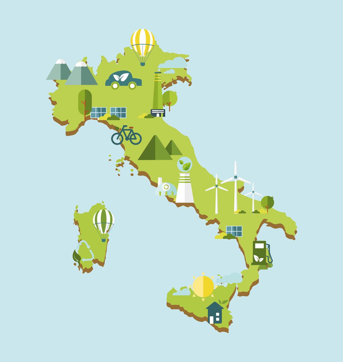 Dopo il Covid gli italiani credono di più nel green