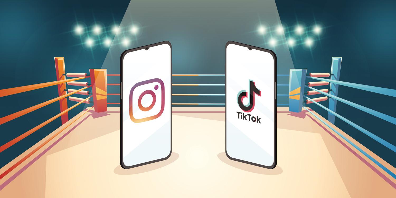 Instagram Reels VS TikTok chi vincerà la sfida tra i due colossi mondiali?