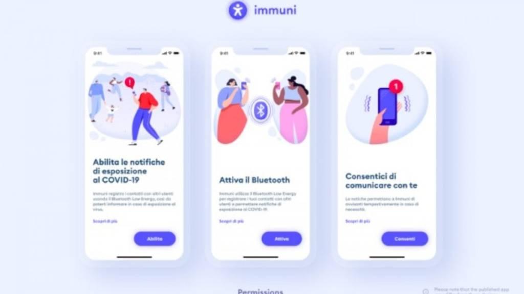 Migliori app 2020-immuni