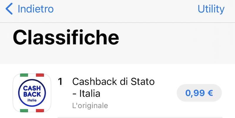 App per il Cashback: attenzione non scaricate quella sbagliata, a pagamento