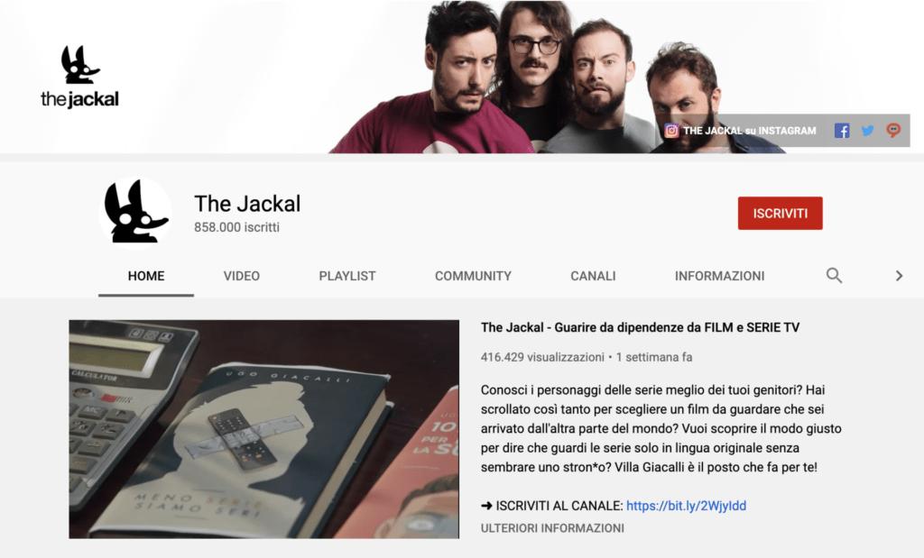 migliori youtuber italiani The Jakal