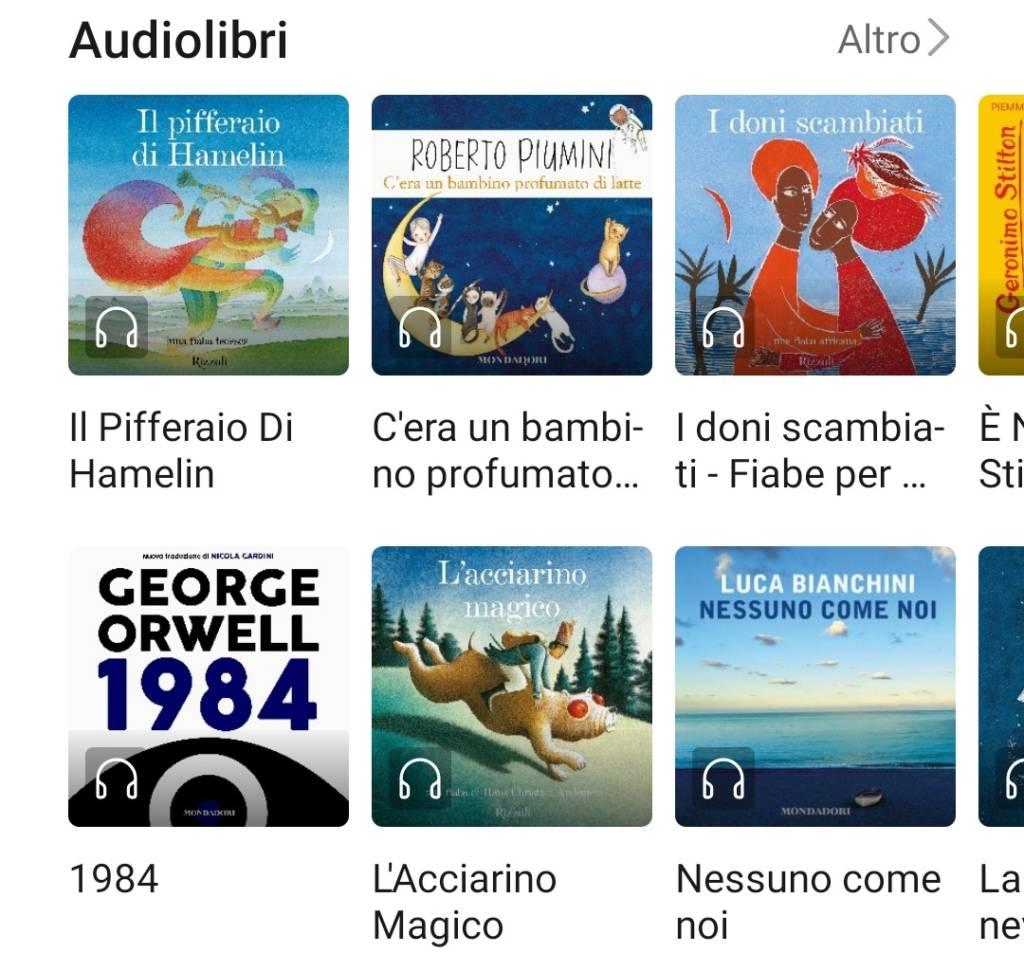 Huawei Books Audiolibri