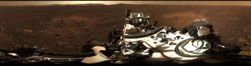 Foto Marte 360 gradi Perseverance