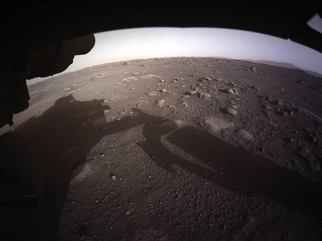 Foto Marte Perseverance Panorama