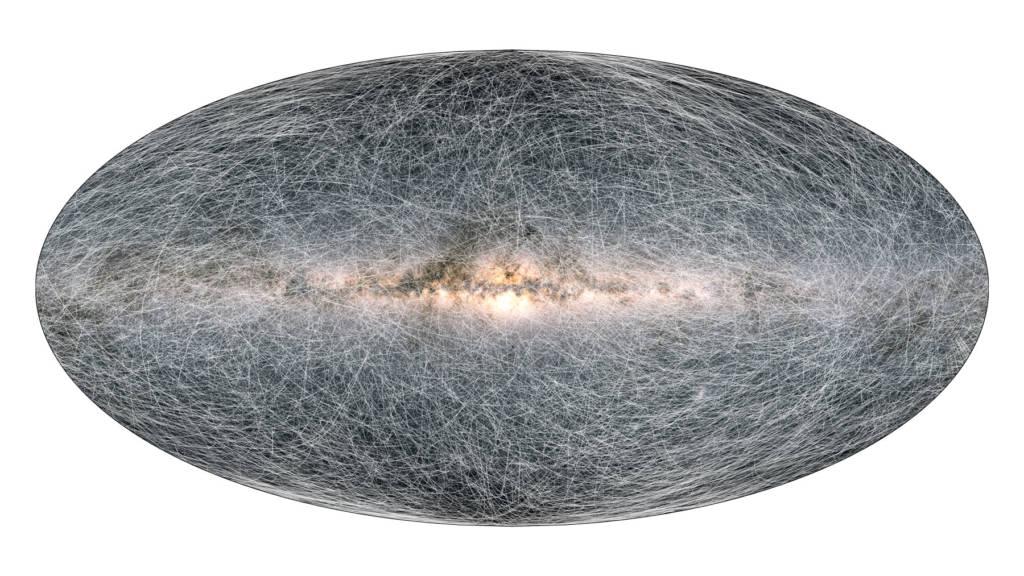 Mappa della galassia 3D