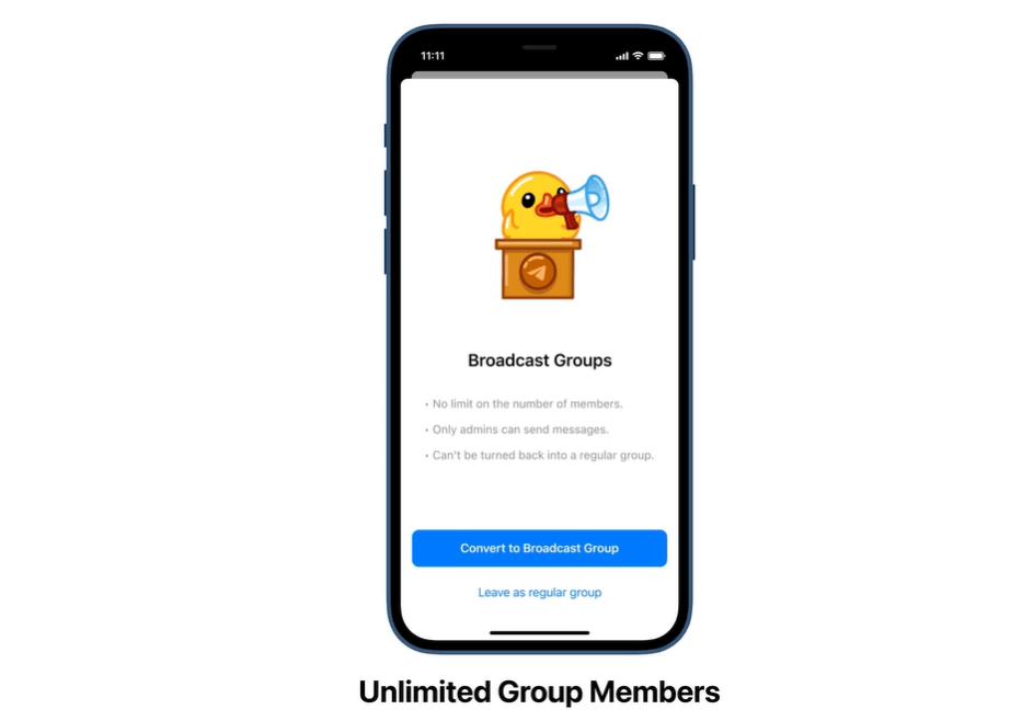 gruppi senza limiti Telegram