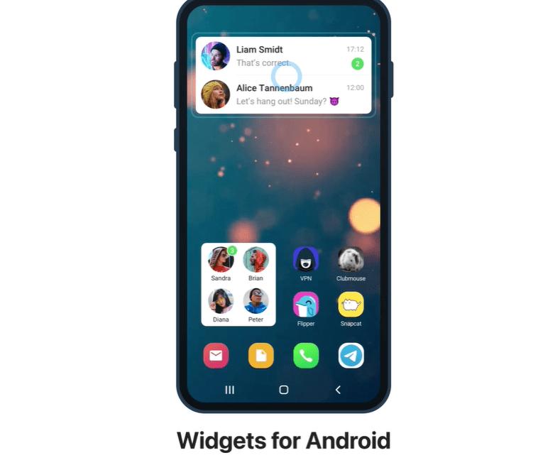 widget per android