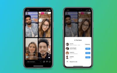 Instagram Stanze in diretta, la nuova funzione porta il live streaming a 4 persone