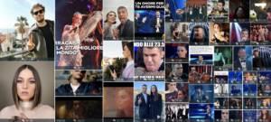 Sanremo 2021 dati di ascolto social