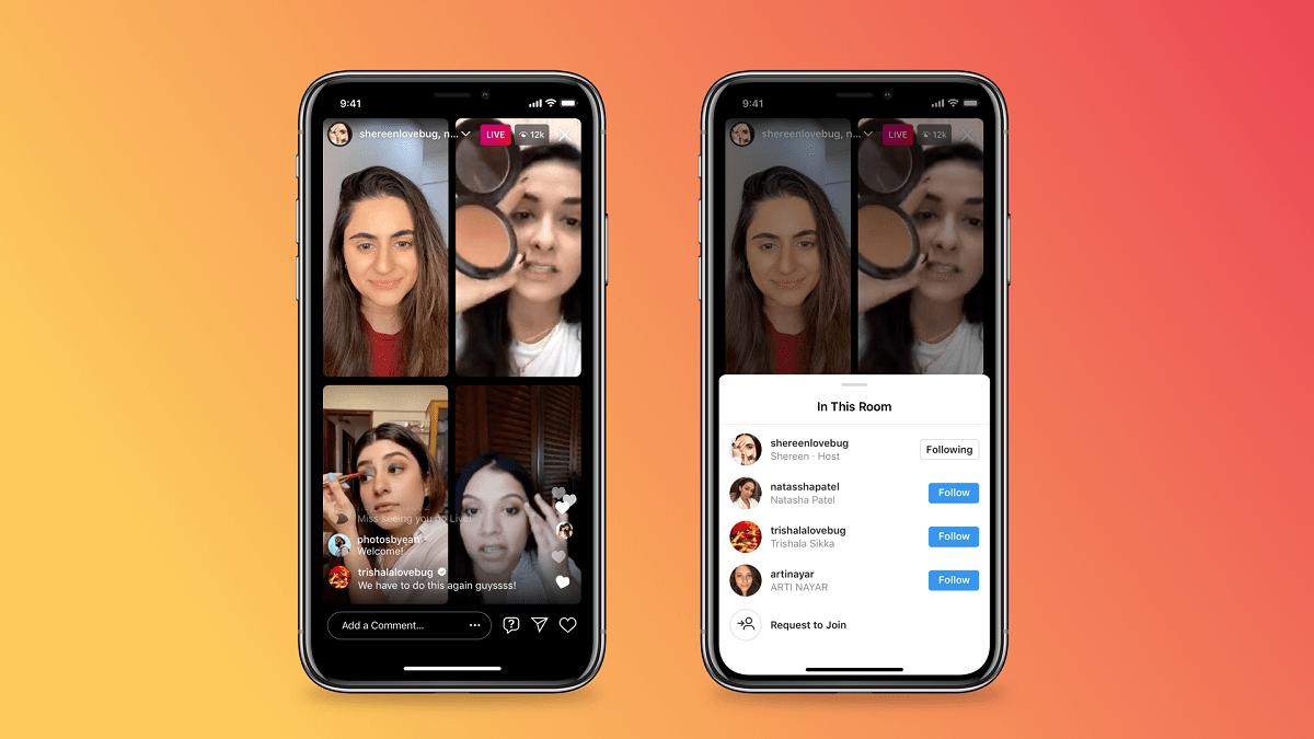 come funziona instagram stanze in diretta