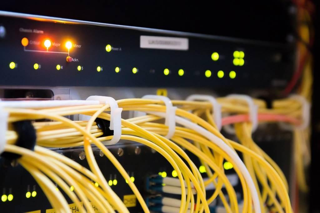 connettività in fibra ottica Aruba