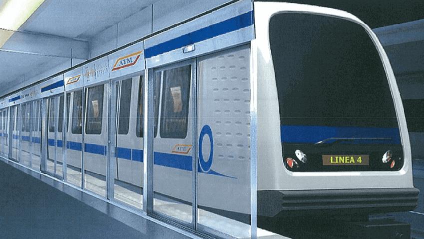 metropolitana M4 Milano rete 5g