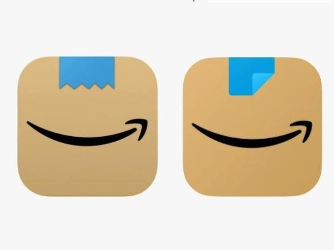 nuovo logo amazon