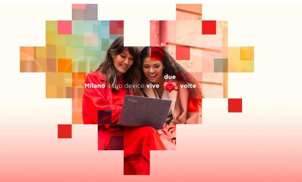 riavvia MI progetto Lenovo a Milano