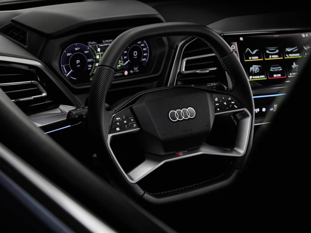 strumentazione digitale Audi Q4 e-tron