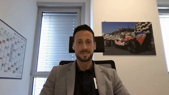 Raffaele Boschetti, Head of IT, Scuderia AlphaTauri