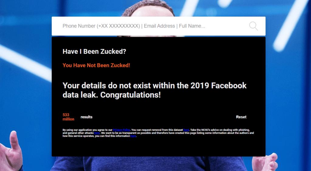 verifica numero facebook hackerato