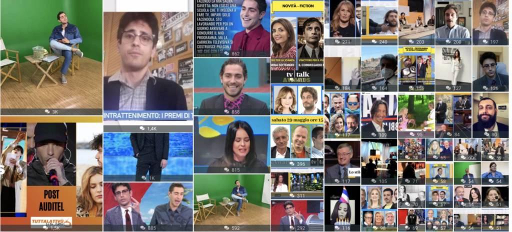 TV Talk dati social
