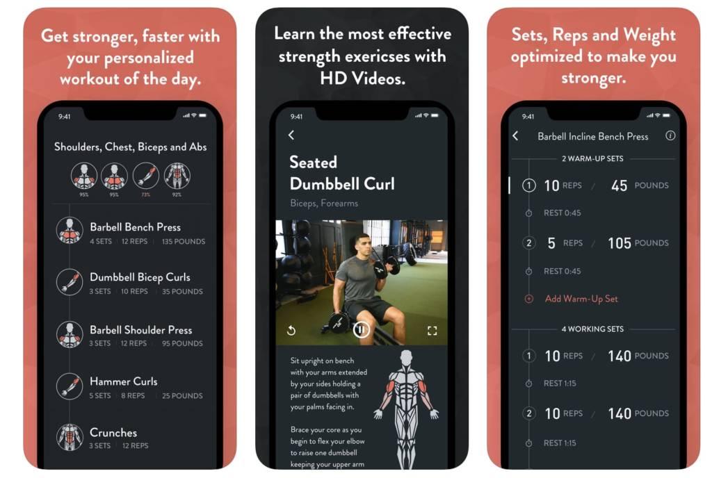 Migliori app fitness per allenarsi a casa gratis: Fitbod