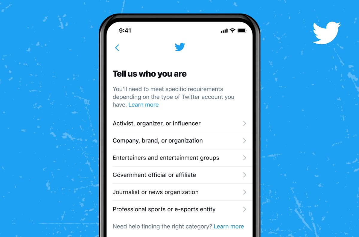 impostazioni Twitter
