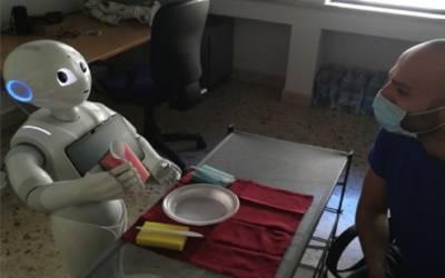 Il robot che pensa ad alta voce nato a Palermo