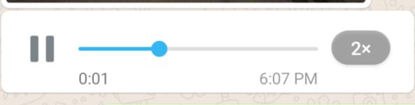 velocizzare audio whatsapp