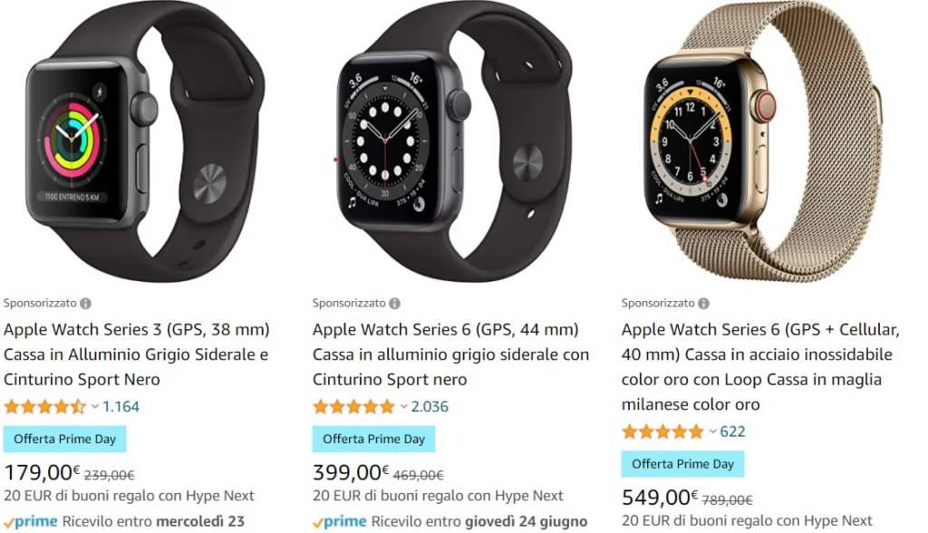 Apple Watch Amazon Prime Day 2021