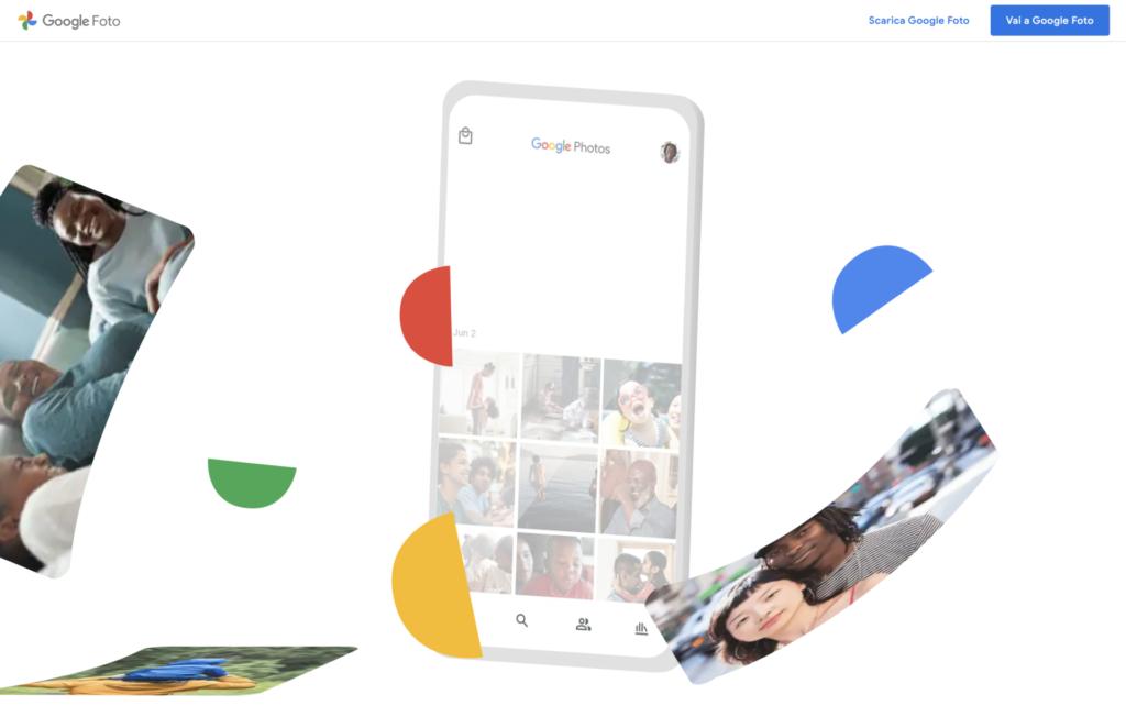 Google Foto stop spazio gratuito illimitato