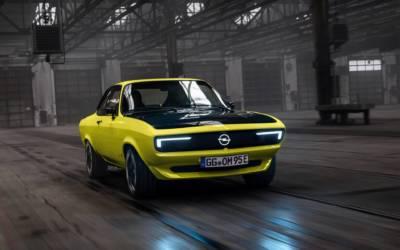 Opel Manta GSe ElektroMOD 2021: tutte le caratteristiche