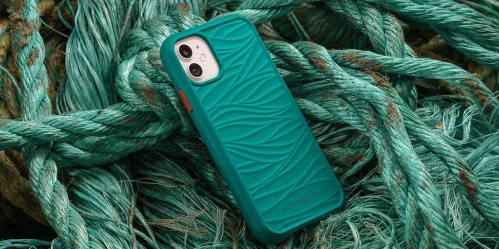 iphone ecologico con materiali ricilati