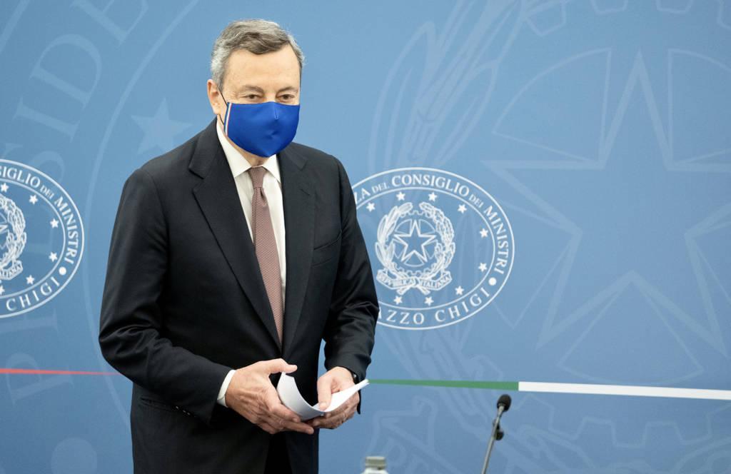 Mario Draghi Green Pass obbligatorio