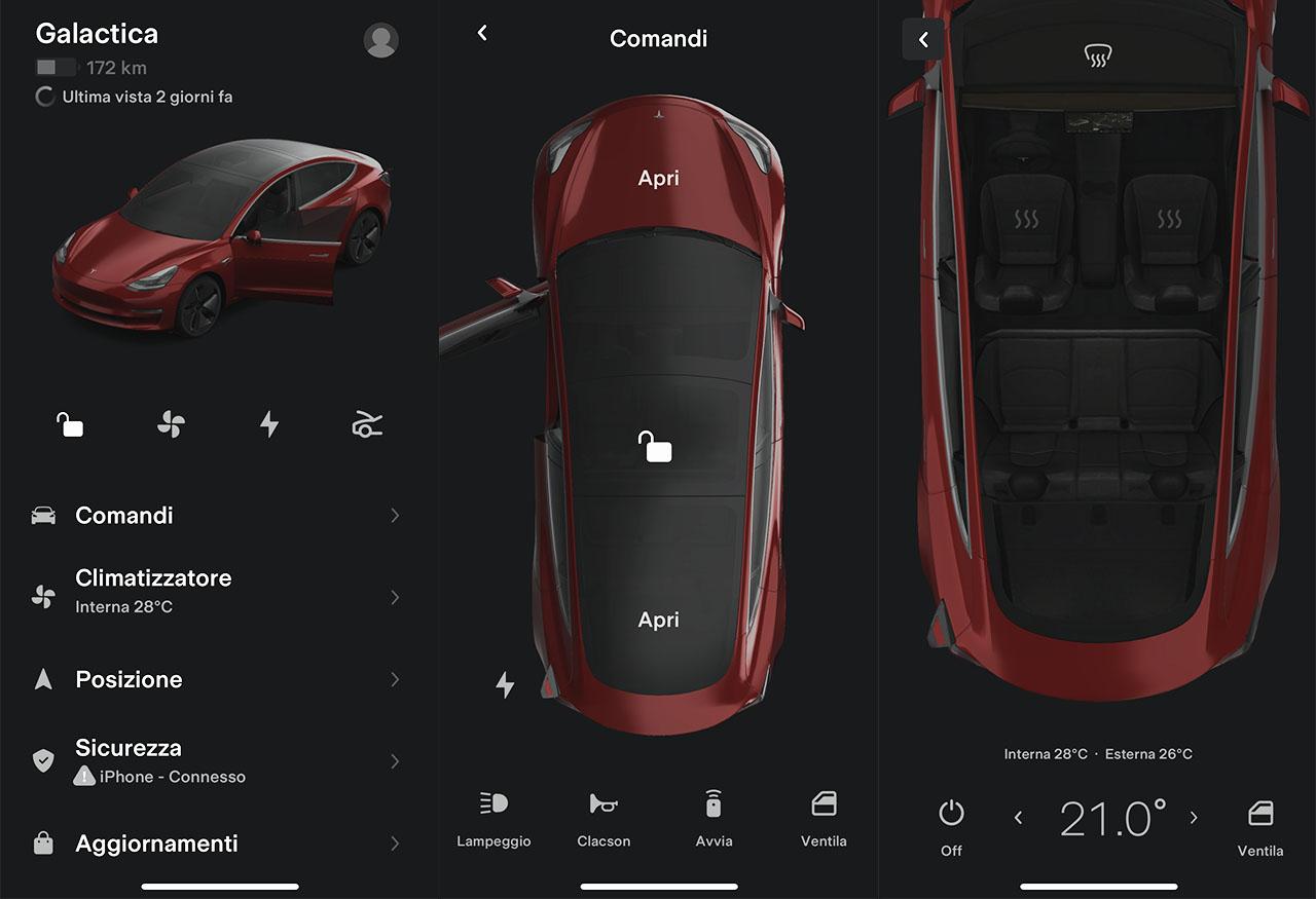 Tesla app 4.0