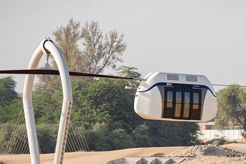 Sky pod, a Dubai il trasporto pubblico diventa futuristico