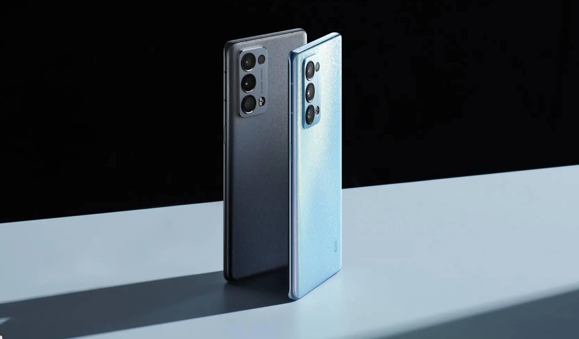 Reno6 e Reno6 Pro, i nuovi smartphone 5G di OPPO