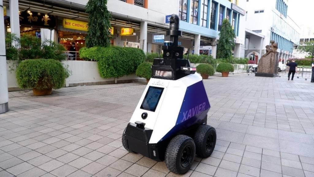 Poliziotti Robot Cane
